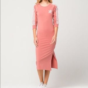 Pink 3/4 sleeve dress size M